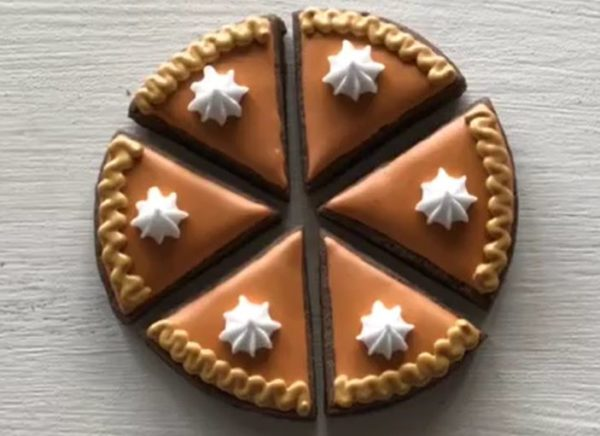 【アイシングクッキー】ケーキ風デザインの作り方