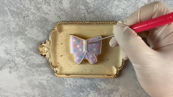 【アイシングクッキーの作り方】100均の型で作るデザイン11