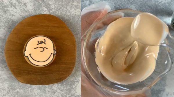 アイシングクッキー キャラにおすすめ キレイな肌色の作り方 アイキャッチ