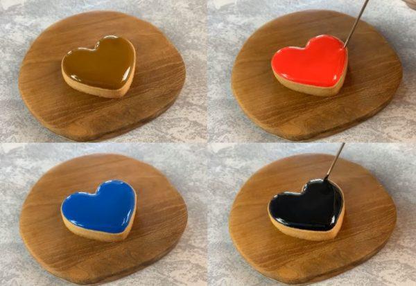 【アイシングクッキー】きれいな濃い色の作り方 トップ画像